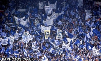 Ipswich fans FA Cup final