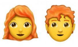 New ginger emoji