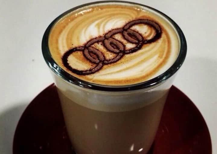 waitrose puts audi logo on posh customers 39 free coffee. Black Bedroom Furniture Sets. Home Design Ideas