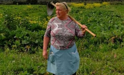 Spanish potato farmer