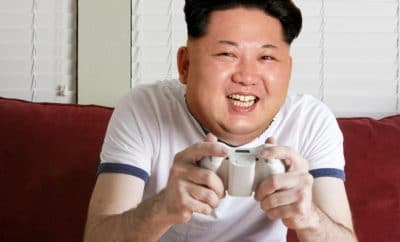 Kim Jong-un on his Xbox