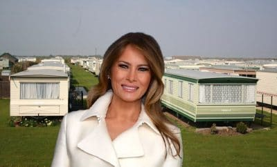 Melania Trump in Suffolk