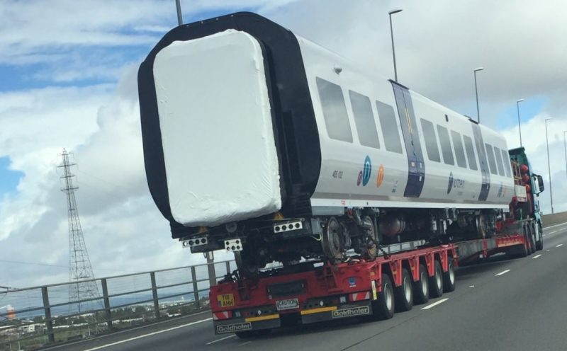 Greater Anglia new train