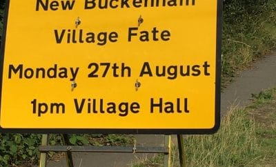 New Buckenham village fate
