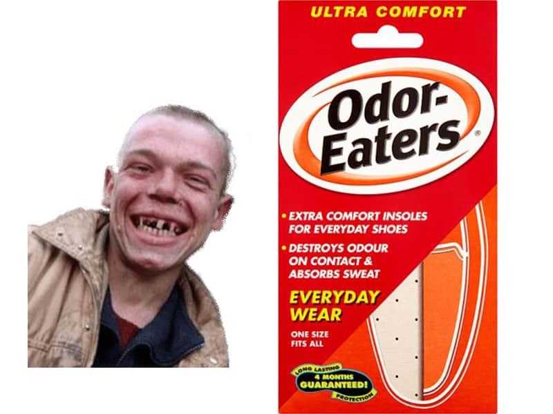 Norfolk man odor eaters